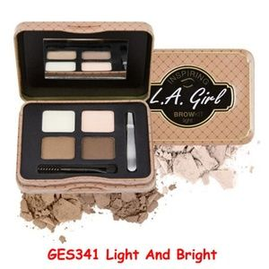2 LA Girl Inspiring Eye Brow Kit Light & Bright